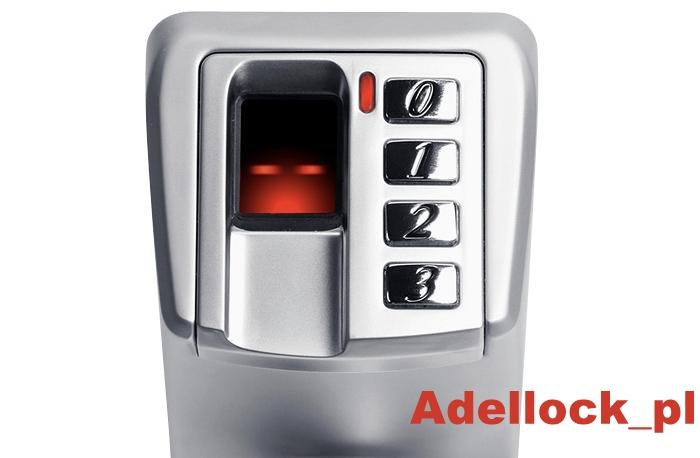 Zamek biometryczny ADEL 3398
